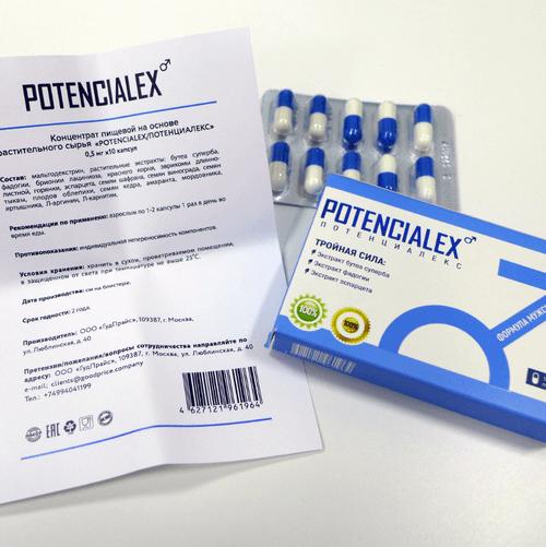 Potencialex для потенции