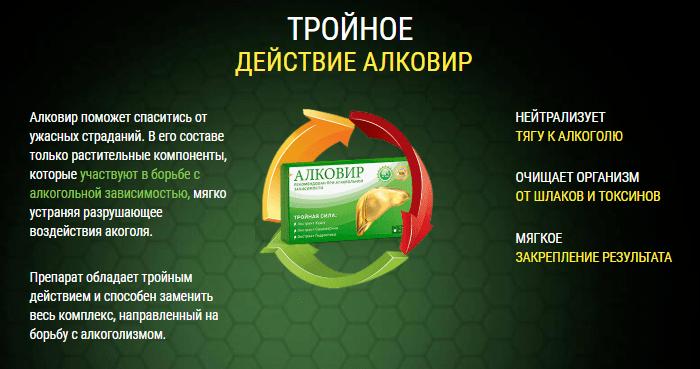 действие капсул Алковир